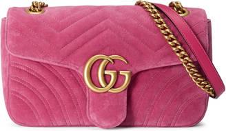 Gucci GG Marmont small Chevron shoulder bag