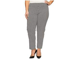 Krazy Larry Plus Size Pull-On Ankle Pants Women's Dress Pants