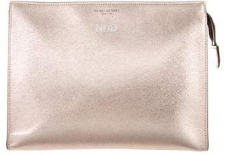 Henri Bendel Metallic West 57th Cosmetic Bag