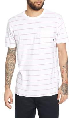Vans Lined Up II Stripe Pocket T-Shirt