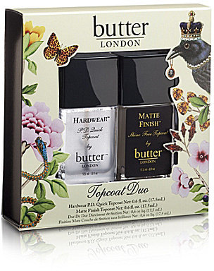 Butter London Topcoat Duo