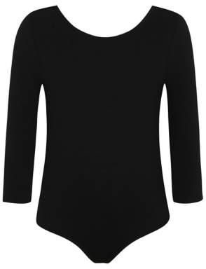 George Girls Black School Leotard