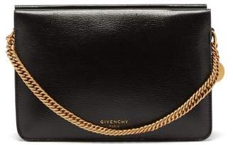Givenchy Cross3 Leather Cross Body Bag - Womens - Black