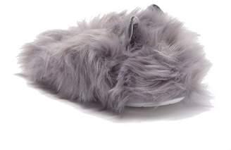 Steve Madden Faux Fur Furry Slipper (Women)