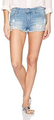 Dollhouse Women's Frayed Shorts