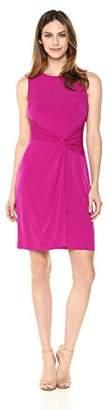 Lark & Ro Women's Sleeveless Twist Front Dress