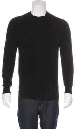 Balenciaga 2017 Distressed Wool Sweater