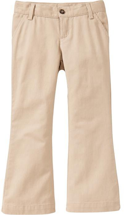 Old Navy Uniform Boot-Cut Khakis for Baby