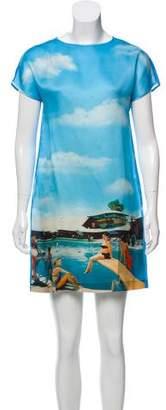 Au Jour Le Jour Silk Mini Dress