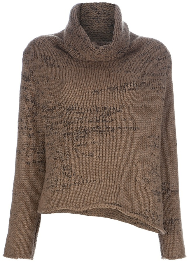 Helmut Lang Funnel neck sweater