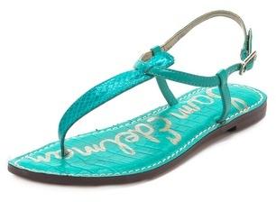 Sam Edelman Gigi Snake T Strap Sandals