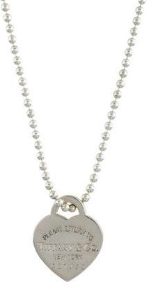 Tiffany & Co. Heart Tag Pendant Necklace $175 thestylecure.com