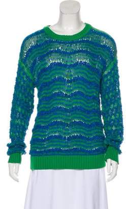 Kenzo Rib Knit Long Sleeve Sweater