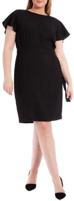 Miss Shop Pencil Dress With Belt