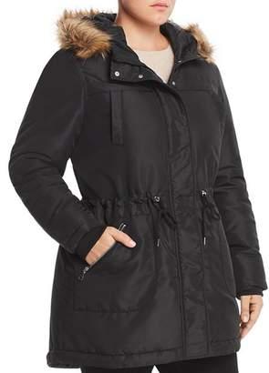 Junarose Plus Faux-Fur-Trim Puffer Coat