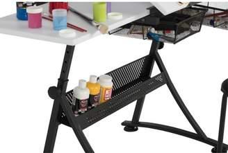 Studio Designs Fusion Drafting Table and Stool Set