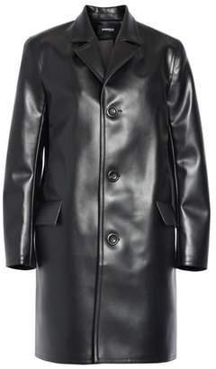 Kwaidan Editions Faux Leather Car Coat