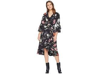Hale Bob Floral Forever Matte Microfiber Jersey Valentina Dress