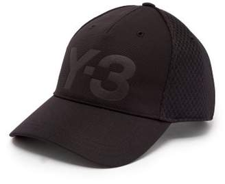 Y-3 Logo Debossed Mesh Cap - Mens - Black