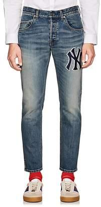 Gucci Men's NY YankeesTM Slim Jeans