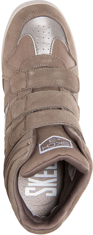 Skechers Women's Raise The Bar Wedge Sneakers from Finish Line