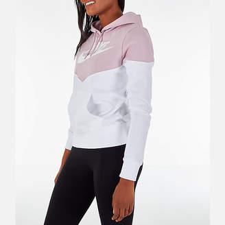 Nike Women's Sportswear Heritage Fleece Hoodie
