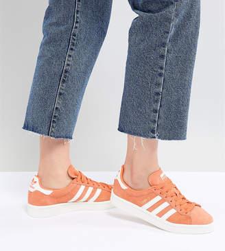 adidas Campus Sneakers In Orange