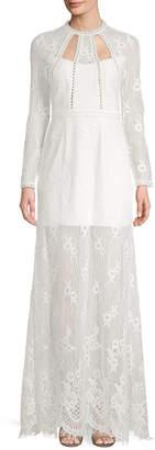 Alexis Rizer Lace Maxi Dress