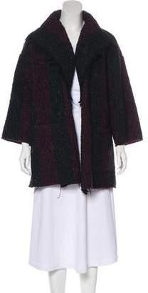 IRO Wool Boucle-Knit Cardigan
