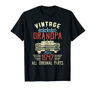 Vintage 1947 71st Aged To Magnificence Birthday Gift T-shirt