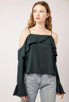 Azalea Off The Shoulder Top w/Straps