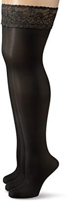 My Way MyWay MyWay FStrumpf 20d 3er - Hold-up Stockings - Women's,9