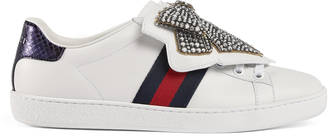Ace sneaker with removable embroideries $1,100 thestylecure.com