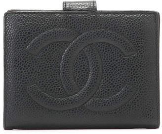 Chanel (シャネル) - Luxury Brands Vintage Bags & Accessories CHANEL レザー ウォレット ブラック