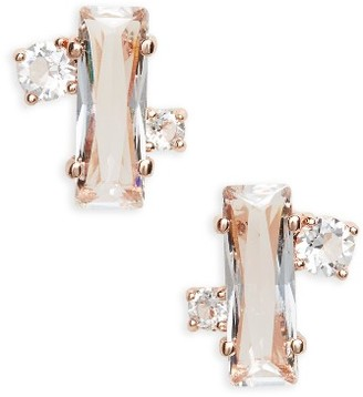 Women's Ted Baker London Bria Baguette Cluster Earrings $59 thestylecure.com