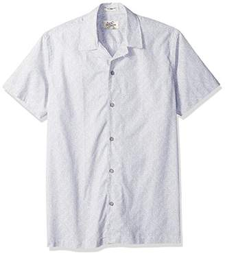 Casual Terrains Men's Classic- Fit Short-Sleeve Camp Shirt .