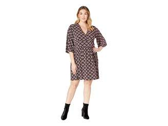 MICHAEL Michael Kors Size Chandelier Waist Panel Dress