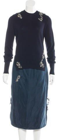 Altuzarra Willow Embellished Dress