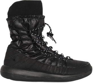 Roshe Two Nylon Sneaker Boots $195 thestylecure.com
