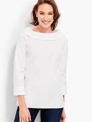 Talbots Portrait-Collar Shirt