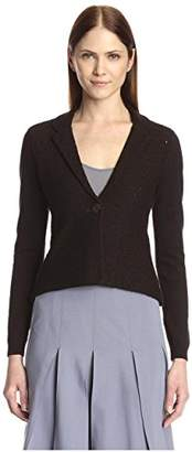 Society New York Women's Shrunken Lace Jacket