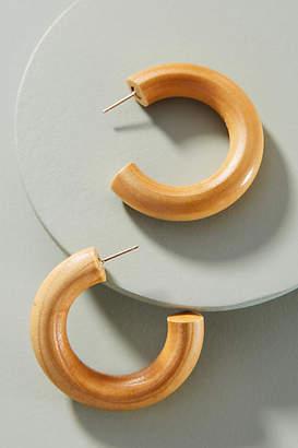 Sophie Monet Small Pine Hoop Earrings