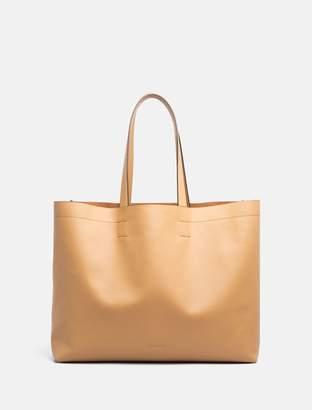 Calvin Klein leather shopper tote bag