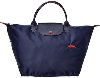 Longchamp Le Pliage Club Medium Nylon Short Handle Tote