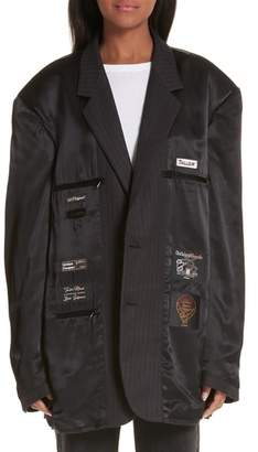 Vetements Oversized Lining Jacket