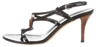 Gucci Bamboo-Accented Multistrap Sandals