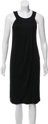 Fendi Sleeveless Pleated Dress
