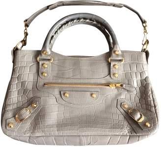 Balenciaga Exotic leathers bag