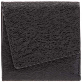 Valextra Twist Leather Portfolio Clutch Bag