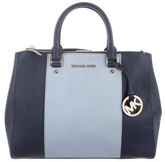 MICHAEL Michael Kors Leather Medium Satchel